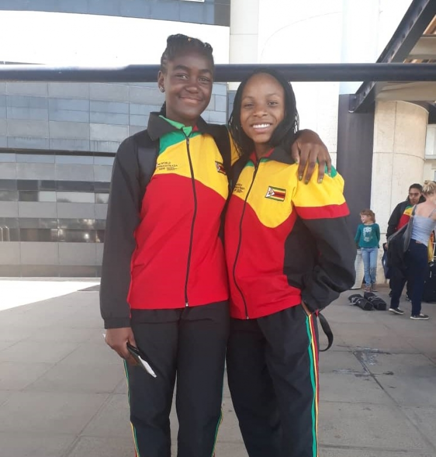 We would like to congratulate Nyasha and Savanna for representing Zimbabwe in the 16th World Gymnaestrada in Dornbirn, Austria